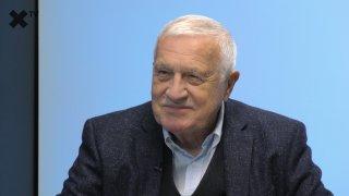 """""""Koalice SPOLU je podvod na voliče. Neočekávám výhru Pirátů, zavedli by komunismus. Vystrčil je tragický, zdraví prezidenta je soukromá věc."""" - říká Václav Klaus"""