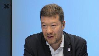 """""""Robert Šlachta pro SPD není žádná konkurence. Konec dvojí kvality potravin, pokuty až 10 milionů. České žaludky nebudou odpadkovým košem."""" – říká Tomio Okamura"""