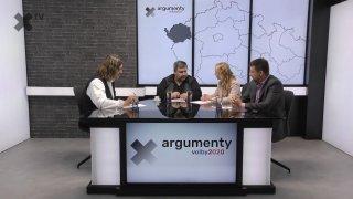 Předvolební debata 2020: Karlovarský kraj – Karla Maříková (SPD), Martin Hurajčík (ANO) a Josef Janů (Piráti)