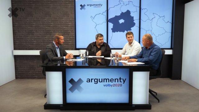 Předvolební debata 2020: Středočeský kraj – Tomáš Havlíček (ODS), Jiří Snížek (Piráti), Radek Rozvoral (SPD)