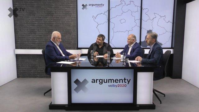 Předvolební debata 2020: Jihomoravský kraj – Michal Hašek (ČSSD), Bohumil Šimek (ANO), Jindřich Vobořil (ODS)