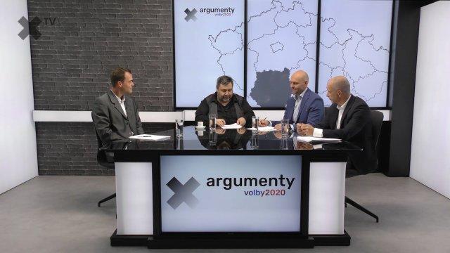 Předvolební debata 2020: Jihočeský kraj – Dalibor Uhlíř (Trikolóra), Martin Kuba (ODS), Zdeněk Kotěšovec (SPD)