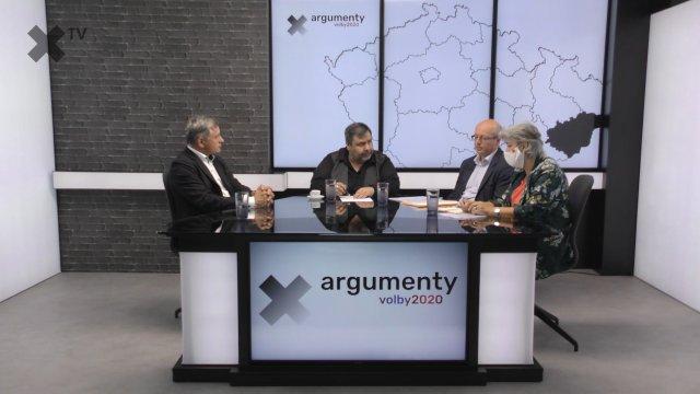 Předvolební debata 2020: Zlínský kraj – Jiří Čunek (KDU-ČSL), Alena Gajdušková (ČSSD), Radek Doležal (ANO)