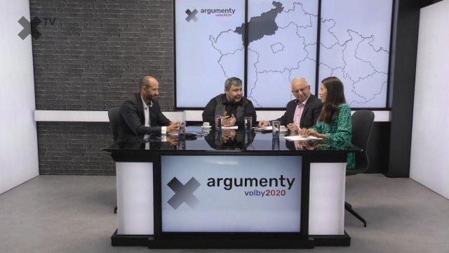 Předvolební debata 2020: Ústecký kraj – Kateřina Stojanová (Piráti), Jan Paparega (Lepší sever), Petr Jakubec (ČSSD)