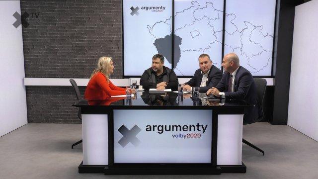 Předvolební debata 2020: Plzeňský kraj – Roman Zarzycký (ANO), Marie Pošarová (SPD), Pavel Borusík (Trikolóra)
