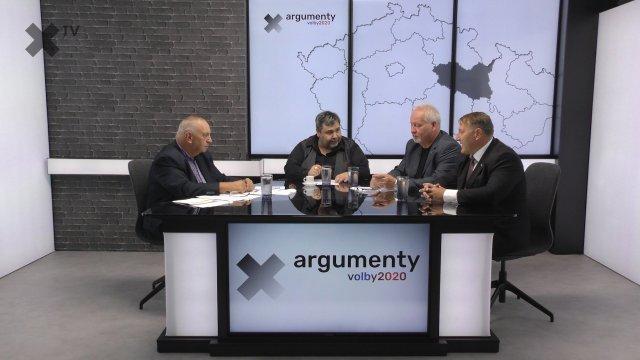 Předvolební debata 2020: Pardubický kraj – Michal Kortyš (ODS, TOP09), Jan Foldyna (KSČM), René Živný (Koalice za Pardubický kraj)