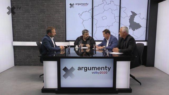 Předvolební debata 2020: Olomoucký kraj –  Marian Jurečka (KDU-ČSL, TOP 09), Jiří Zemánek (ČSSD, Patrioti), Josef Suchánek (Piráti a Starostové)