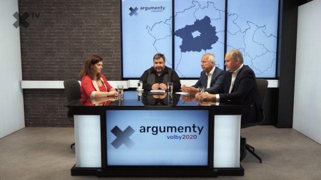 Předvolební debata 2020: Středočeský kraj – Jaroslava Pokorná Jermanová (ANO), Robin Povšík (ČSSD), Antonín Fryč (Trikolóra)