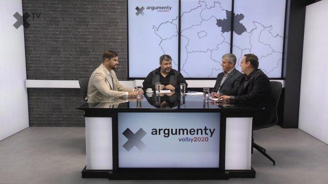 Předvolební debata 2020: Královehradecký kraj – Pavel Bulíček (Piráti), Martin Machů (Koalice pro Královehradecký kraj a KDU-ČSL), Petr Sobotka (ČSSD, SZ)