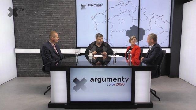 Předvolební debata 2020: Kraj Vysočina – Hana Hajnová (Piráti), Vít Kaňkovský (KDU-ČSL), Vítězslav Schrek (ODS)